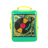 Boxed Out Vinyl Player backpacks