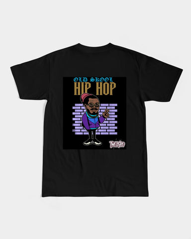Old Skool Hip Hop Collection: Men's Graphic Tee (Peace)