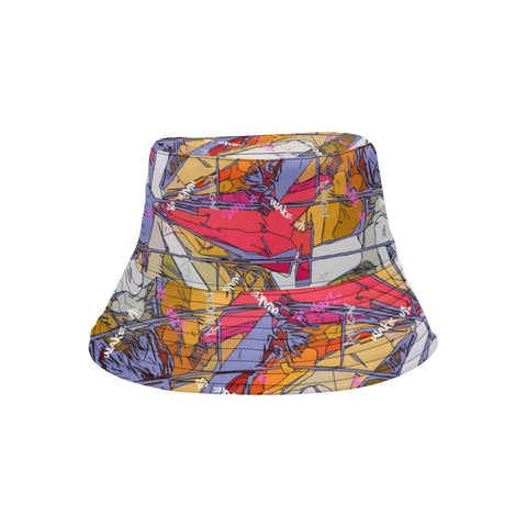 Lavender Signature Burst Bucket Hat