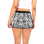 Fly Girl Numbers Shorts-Women