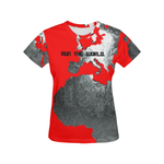 © Run The WORLD graphic tee (red)