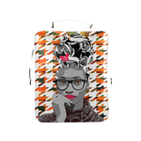 Houdstooth Kente Rose Backpack