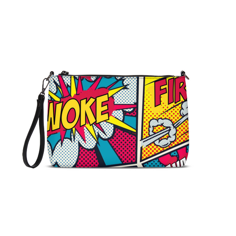 Woke Comic Daily Zip Clutch/Bag