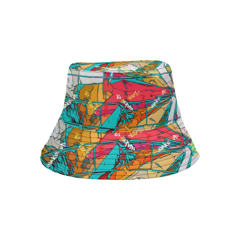 Teal Signature Burst Bucket Hat