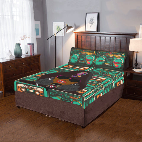 Rap Battle 3-Piece Bedding Set