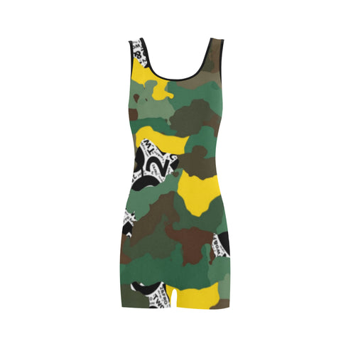 Camo Old Skool Swimsuits (3 colors)