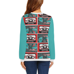Teal Casette Collection Sweatshirt