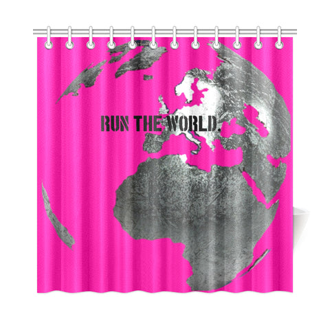 Pink Mogul Shower CurtainS