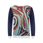 Calypso Blue/red Sweatshirt