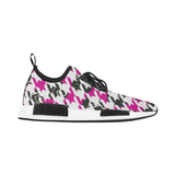 BubbleGum Houndstooth Runners - shoes