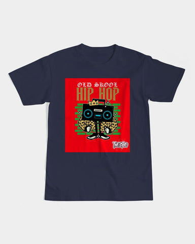 Old Skool Hip Hop Collection: Men's Graphic Tee (Boombox)