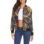 Dope Rose Golden Gray bomber jacket - Ladies