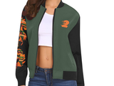 Combat Green MA Dragon Bomber Jackets