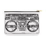 Inside Out BoomBox  Carry-All Pouch 12.5''x8.5''