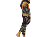 Dope Rose Leggings - Golden Gray