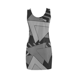 Retro Grayscale Dress