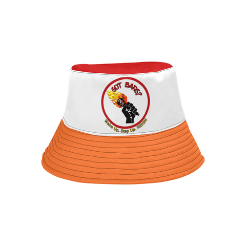 "Orange CB ""Got Bars?"" Bucket Hat"