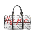 Hype Waterproof Travel Bag/Small (White/Flame)