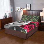 green camo 3-Pieces Bedding Set