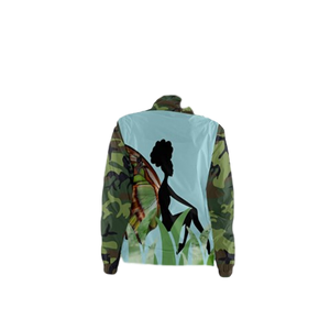 Camo Butterfly Windbreaker
