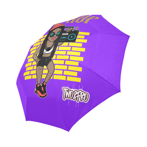 HipHop BoomBox Auto-Foldable Umbrella