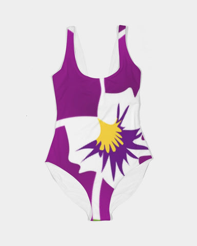 African Violet Women's One-Piece Swimsuit