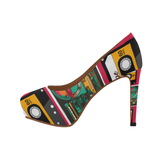 MixTapes & Boomboxes power heels - the original