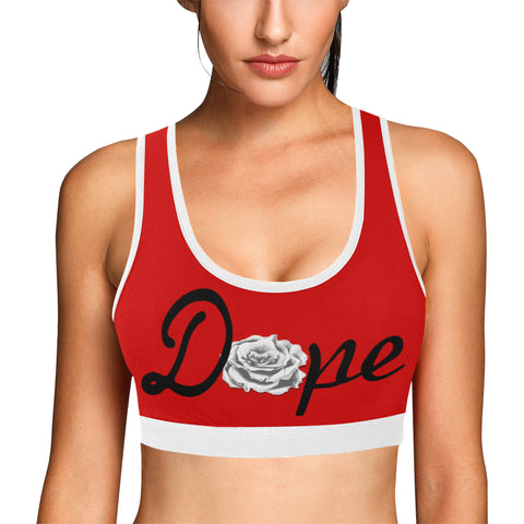 Dope Rose Workout set - Gray/Red