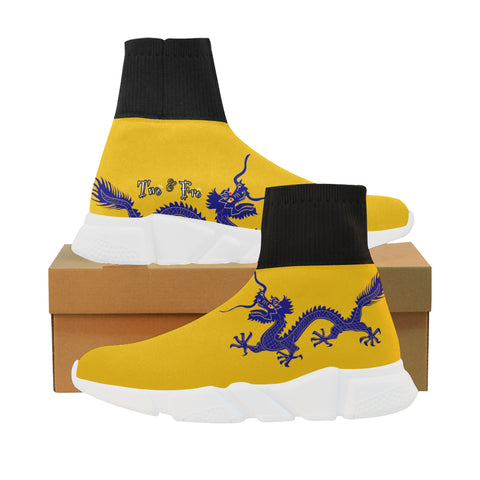 Blue Dragon MockSock Shoe