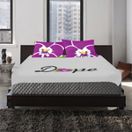 Dope African Violet 3-Piece Bedding Set