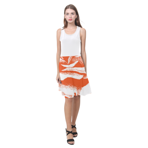 Orange Rose Sundress