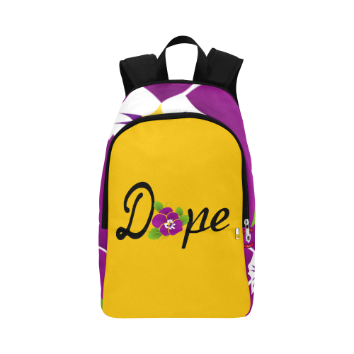 Dope Gold African Violet Backpack
