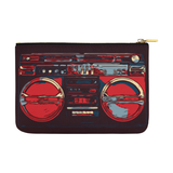 Red BoomBox  Pouch