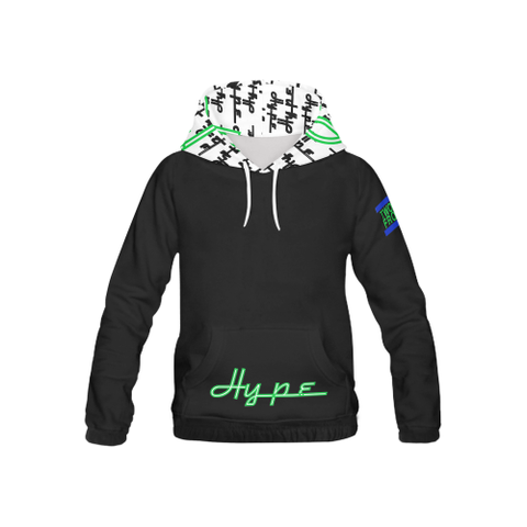 The Most Hyped Hoodie - kids (Lime)