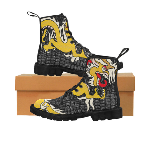 Men FireBreather Boots - Golden