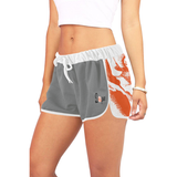 DOPE Orange Rose Shorts-Womens