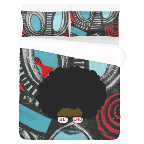 Blerd 3-Piece Bedding Set