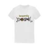 Incomparably Dope Golden Gray tee