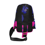 Fire Breather crossbody bags - unisex