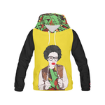 Afro Graffiti Hoodie - Lime