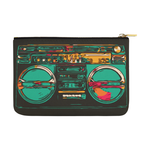 Calypso Retro BoomBox  Carry-All Pouch 12.5''x8.5''