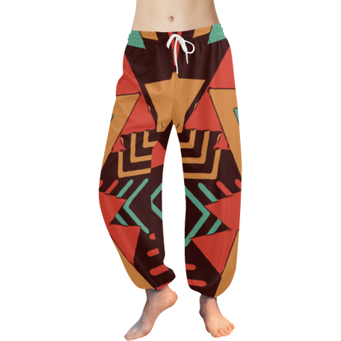 Retro Yoga / Lounge pants (orange)