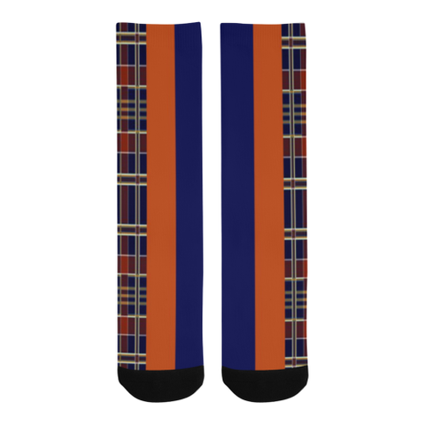 Mad Plaid socks