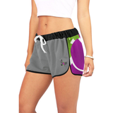 DOPE Purple Rose Shorts-Women