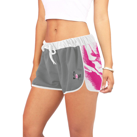 DOPE Pink Rose Shorts-Women