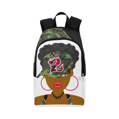 Cutie Pie Camo Rose Backpack