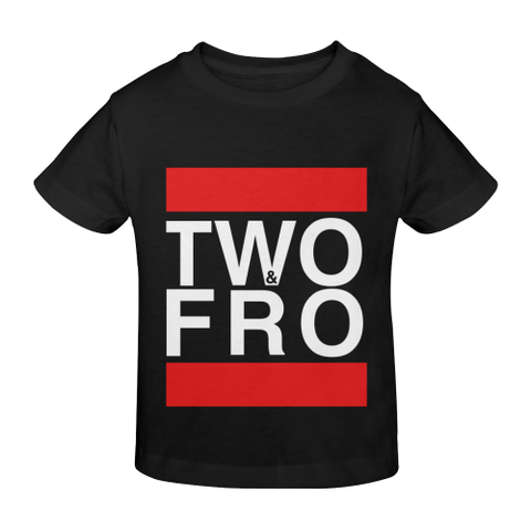 Black Two&Fro Tees - Kids