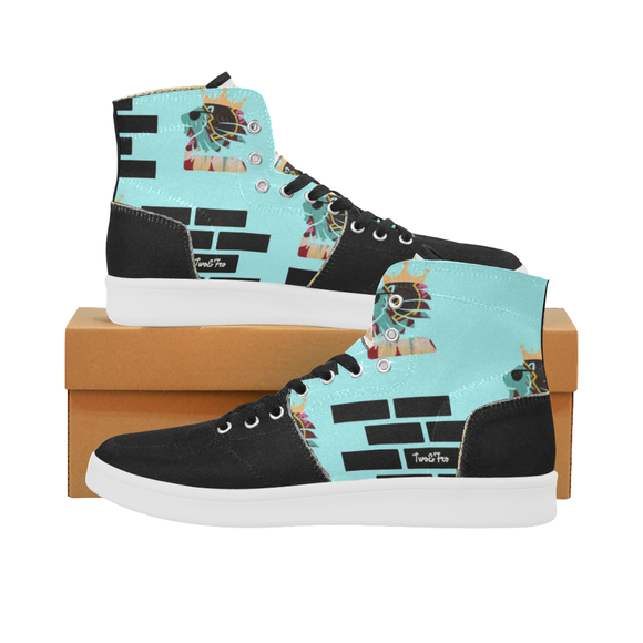 Aqua   BrickHouse   Ladies High Tops (size 6-11)