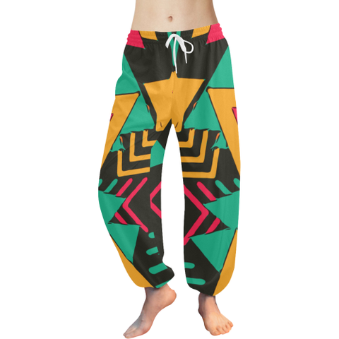 Retro Yoga / Lounge pants (pink)