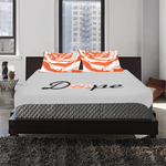 Dope Orange 3-Piece Bedding Set